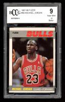 Michael Jordan 1987-88 Fleer #59 (BCCG 9) at PristineAuction.com