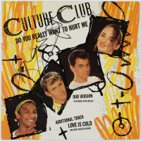 "Boy George Signed Culture Club ""Do You Really Want To Hurt Me"" Vinyl Record Album Cover (AutographCOA COA) at PristineAuction.com"