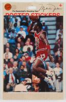 Michael Jordan Bulls Poster Stickers at PristineAuction.com