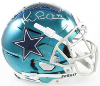 Michael Irvin Signed Cowboys F7 Full-Size Authentic On-Field Helmet (JSA Hologram) at PristineAuction.com