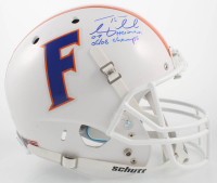 "Tim Tebow Signed Florida Gators Full Size Helmet Inscribed ""07 Heisman"" & ""06/08 Champs"" (Beckett COA) at PristineAuction.com"