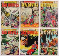 "Lot of (6) 1963-1967 ""Sea Devils"" DC Comic Books at PristineAuction.com"