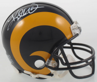 Kurt Warner Signed Rams Mini-Helmet (JSA COA) at PristineAuction.com