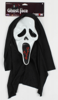 "Courtney Cox Signed Full-Size ""Scream"" Ghostface Mask Inscribed ""Ghostface"" (PSA Hologram) at PristineAuction.com"