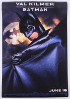 "Val Kilmer Signed ""Batman Forever"" 27x40 Movie Poster Inscribed ""Batman"" (AutographCOA Hologram) at PristineAuction.com"