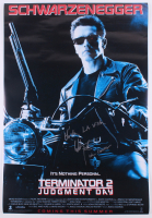 "Edward Furlong Signed ""Terminator 2: Judgment Day"" 27x40 Poster Inscribed ""John Conner"" & ""Hasta La Vista"" (AutographCOA Hologram) at PristineAuction.com"