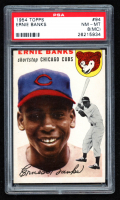 Ernie Banks 1954 Topps #94 RC (PSA 8) (MC) at PristineAuction.com