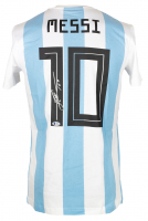 """Lionel Messi Signed Argentina Adidas Jersey Inscribed """"Leo"""" (Beckett LOA) at PristineAuction.com"""