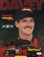 Davey Allison Signed NASCAR 8x10 Photo (PSA COA) at PristineAuction.com