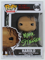 """Mark Steger Signed """"Scary Stories to Tell in the Dark"""" #846 Harold Funko Pop! Vinyl Figure (JSA COA) at PristineAuction.com"""