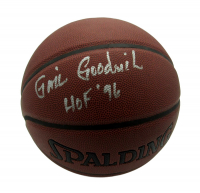 "Gail Goodrich Signed Basketball Inscribed ""HOF '96"" (Becket COA) at PristineAuction.com"