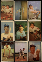 Complete Set of (160) 1953 Bowman Color Baseball Cards with Mickey Mantle #59, Pee Wee Reese #33, #44 Yogi Berra / Hank Bauer / Mickey Mantle, Yogi Berra #121 at PristineAuction.com