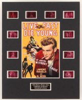"""""""Rebel Without a Cause"""" LE 8x10 Custom Matted Original Film / Movie Cell Display at PristineAuction.com"""