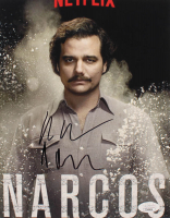 """Wagner Moura Signed """"Narcos"""" 8x10 Photo (JSA COA) at PristineAuction.com"""