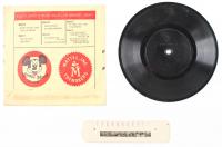 Vintage 1955 Walt Disney's Mickey Mouse Club Newsreel & Vinyl Record at PristineAuction.com