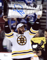 Nathan Horton Signed Bruins 8x10 Photo (JSA COA) at PristineAuction.com