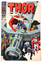"""1968 """"The Mighty Thor"""" Issue #156 Marvel Comic Book at PristineAuction.com"""