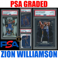 Mystery Ink Zion Williamson PSA Graded 2019-20 Slabbed Rookie Card! Mystery Box at PristineAuction.com