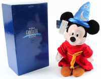 "Disney ""Fantasia"" Mickey Mouse Sorcerer Plush Figurine with Original Box at PristineAuction.com"