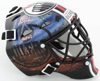 "Grant Fuhr Signed Oilers Mini Goalie Mask Inscribed ""HOF 03"" (Schwartz COA) at PristineAuction.com"