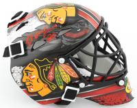 Ed Belfour Signed Blackhawks Mini Goalie Mask (Schwartz Sports COA) at PristineAuction.com