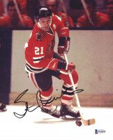 Stan Mikita Signed Blackhawks 8x10 Photo (Beckett COA) at PristineAuction.com