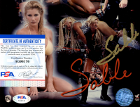 Sable Signed 8x10 Photo (PSA COA) at PristineAuction.com