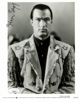 Steven Seagal Signed 8x10 Photo (JSA COA) at PristineAuction.com