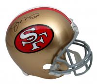 Joe Montana Signed Full-Size Helmet (JSA COA) at PristineAuction.com