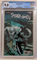 "2017 ""Spider-Gwen"" Issue #24 Paulo Siqueira Venomized Variant Marvel Comic Book (CGC 9.0) at PristineAuction.com"