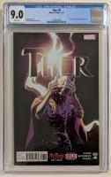 "2015 ""Thor"" Issue #8 Marvel Comic Book (CGC 9.0) at PristineAuction.com"