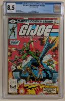 "1982 ""G.I. Joe"" Issue #1 Marvel Comic Book (CGC 8.5) at PristineAuction.com"
