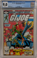 "1982 ""G.I. Joe"" Issue #1 Marvel Comic Book (CGC 9.0) at PristineAuction.com"
