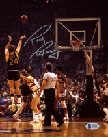 Rick Barry Signed Warriors 8x10 Photo (Beckett COA) at PristineAuction.com