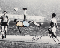 Pele Signed Team Brazil 16x20 Photo (JSA COA) at PristineAuction.com