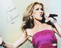 Celine Dion Signed 11x14 Photo (PSA COA) at PristineAuction.com