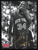 Charles Oakley Signed Knicks 5x7 Photo (YSMS COA) at PristineAuction.com