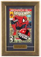 """Vintage 1990 """"The Amazing Spider-Man"""" Issue #1 12x17 Custom Framed Marvel Comic Book at PristineAuction.com"""