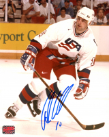 John LeClair Signed Team USA 8x10 Photo (YSMS COA) at PristineAuction.com