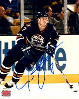Jason Arnott Signed Oilers 8x10 Photo (YSMS COA) at PristineAuction.com