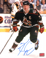 Keith Tkachuk Signed Oilers 8x10 Photo (YSMS COA) at PristineAuction.com