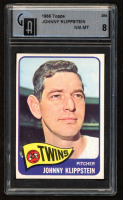 Johnny Klippstein 1965 Topps #384 (GAI 8) at PristineAuction.com