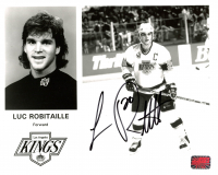Luc Robitaille Signed Kings 8x10 Photo (YSMS COA) at PristineAuction.com