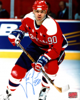 Joe Juneau Signed Capitals 8x10 Photo (YSMS COA) at PristineAuction.com