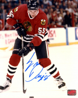 Eric Daze Signed Blackhawks 8x10 Photo (YSMS COA) at PristineAuction.com