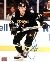 Joe Nieuwendyk Signed Stars 8x10 Photo (YSMS COA) at PristineAuction.com