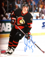 Alexandre Daigle Signed Senators 8x10 Photo (YSMS COA) at PristineAuction.com