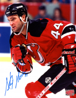 Stephane Richer Signed Devils 8x10 Photo (YSMS COA) at PristineAuction.com