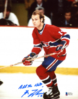 """Guy Lafleur Signed Canadiens 8x10 Photo Inscribed """"All The Best"""" (Beckett COA) at PristineAuction.com"""