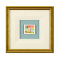 """Peter Max Signed """"Sailboat Series IV"""" Limited Edition 13x13 Custom Framed Lithograph #102/500 at PristineAuction.com"""